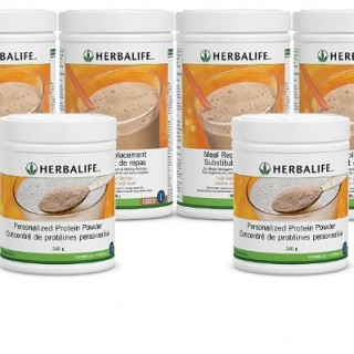 Herbalife Formula1 and Personal Protien Bundle
