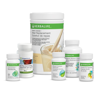 Herbalife Advanced Pack