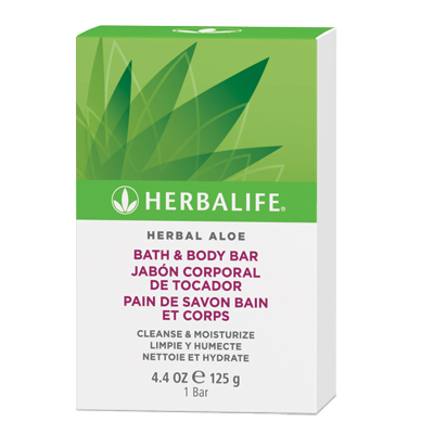Herbalife Herbal Aloe Bath & Body Bar