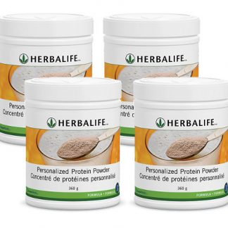 4 x Herbalife Personalized Protein Powder – Bundle