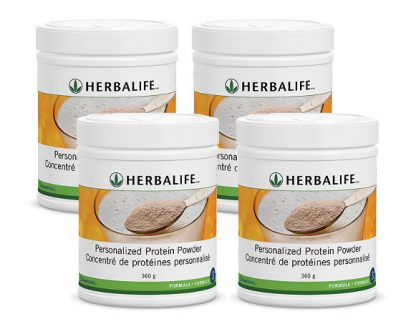 4 x Herbalife Personalized Protein Powder – Bundle